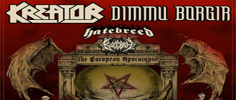 Kreator and Dimmu Borgir The European Apocalypse